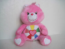 "Care Bears HOPEFUL HEART BEAR 12"" Plush Stuffed Animal"