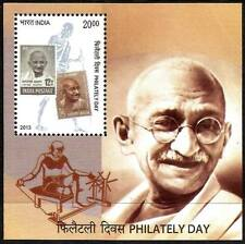 PHILATELY DAY MAHATMA GANDHI 2013 MINIATURE SHEET MNH