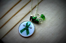 Donate Life! Organ Donor  Necklace. Raise awareness!  Save more lives. Help
