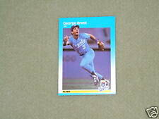 GEORGE BRETT- FLEER Card-#366- 1987