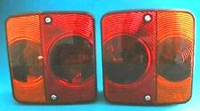 2 x RADEX 4 Function Rear Small Lamp Lights for Horsebox & Trailer