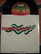 RICHARD CLAPTON I am An Island / Walk On Water 1982 OZ R&B/Pop Picture Sleeve 45