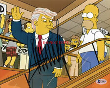 Donald Trump Signed 8x10 Autographed Photo The Simpsons Reprint