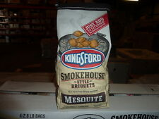 Lot of 12 Bags Kingsford Smokehouse Style Charcoal Briquets Mesquite 2.8 lb bags