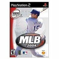 Playstation 2 MLB 2004 - PlayStation 2