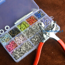 9.5mm 150 Prong Ring Press Studs Snap Fasteners Poppers Dummy Clip Pliers inBox