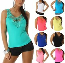 Damen-Trägertops Damenblusen, - tops & -shirts mit V-Ausschnitt für die Freizeit