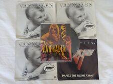 45 RPM Van Halen Lot of 5 David Lee Roth Jump Hot For Teacher #R052