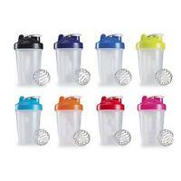 400/600ml Shaker Mixer Drink Cup BPAfree Shake Protein Blender Whisk Ball Bottle