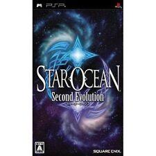 Used PSP Star Ocean Second Evolution SONY PLAYSTATION JAPAN IMPORT