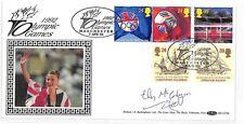 HH163 1992 OLYMPICS Benham Cover Signed *Liz McColgan* GB SCOTLAND RUNNING PTS