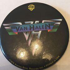 Van Halen Rare Button Set. Promo Button For First Album 2 Uk Buttons Heavy Metal