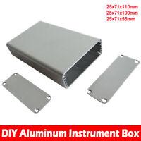 Aluminium Boîte électronique projet boîtier pour l'instrument 25x71x55/110mm
