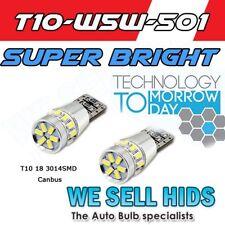 * 7014 18 SMD 501 t10 w5w super bright white cree smd canbus error free Latest