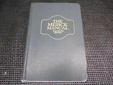 Old Vtg 1977 Book THE MERCK MANUAL 13th Edition Medical Medicine 2165 pages