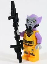 NEW VERY RARE LEGO STAR WARS REBELS ZEB ORRELIOS MINIFIGURE 75053 WITH BLASTER