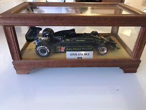 Lotus 78 Mk3 JPS Mario Andretti 1/20