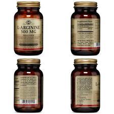 Solgar – L-Arginine 500 mg, 100 Vegetable Capsules 100, Standard Packaging