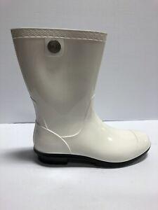 UGG Siena Rain Boots White Size US8 M