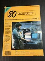 Vintage 80 Microcomputing Magazine TRS-80 Users Games Programs March 1980