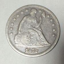 1872 Liberty Seated Liberty Dollar