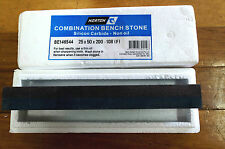 Norton Combination Bench Sharpening Stone for Butchers Knives, Axes, Tools