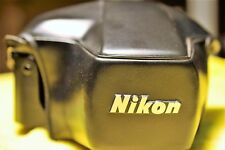 NEW Nikon CF-27 Eveready leather case for the FM2, FM3 and FE2 cameras