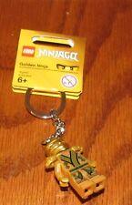 New Lego Ninjago Golden Ninja Minifigure Key Chain 850622