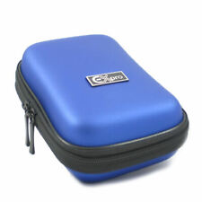 Ex-Pro® Blue Hard Clam MED Digital Camera Case for P@ L@ DMC-TZ10 TZ18