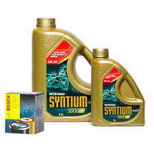 Petronas Syntium 5000 FR 5W30 Engine Oil 5L and Oil Filter Service Kit