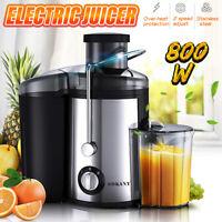 800W Electric Juicer  Wide Mouth Fruit Vegetable Food Blender Mixer Machine 220V