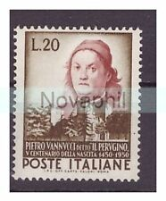 Francobolli italiani, sul arte, artisti