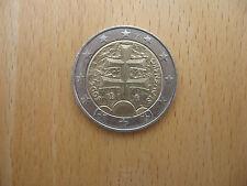 2 Euro Münze 2009, Slowakei, Slowakai, Slovenska, gut erhalten