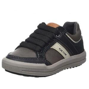 GEOX Junior  - Art. J ARZACH J744AI - Colore DK GREY BLACK Sneaker Bambino