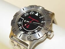 Russian military watch VOSTOK. Komandirskie. Men's Fashion. 350617