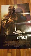 Crash 27x40 Folded 2004 Movie Poster Paul Haggis Los Angeles Bullock Dillon