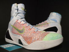 the best attitude 6fe2d 4a8bb 2015 NIKE KOBE IX 9 ELITE PREMIUM WHAT THE MULTI-COLOR SILVER MVP 678301-