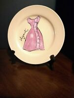 Rosanna Fantastique Dress Dessert Plates Set of 4