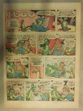 Pogo Sunday by Walt Kelly from 5/19/1957 Tabloid Size!