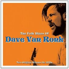 DAVE VAN RONK - THE FOLK BLUES OF  2 CD NEUF