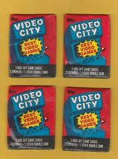 1983 Topps Video City Full 36 Packs No Box
