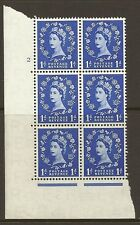 S13c Variety 1d Wilding Tudor Crown cyl 2 No Dot perf type A(E/I) UNMOUNTED MINT