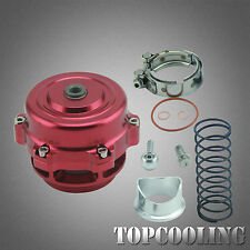 Universal 50MM Blow Off Valve BOV With V-band Flange,Spring Red