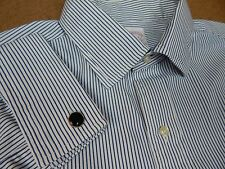 VINTAGE BROOKS BROTHERS USA Makers French Cuff Oxford Dress Shirt 16.5~32