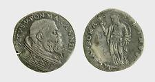 s542_3) Roma. SISTO V,  (1585-1590)  TESTONE Alma Roma  Raro