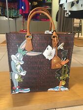 BORSA MOSCHINO LOONEY TUNES SAC PLAT BUGS BUNNY BAG NEW TAGS ORIGINALE 100%