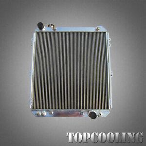 For Toyota Hilux Surf KZN130 1KZ-TE 3.0TD 92-96 3 Row Aluminum Radiator AT/MT
