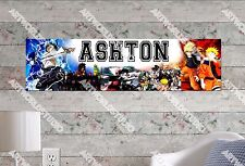 Personalized/Customized Naruto Name Poster Wall Art Decoration Banner