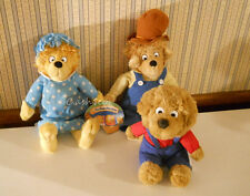The Berenstain Bears plush stuffed Mama Papa & brother lot of 3