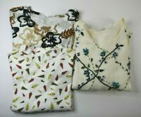 White Stag Women's 22W/24W Long Sleeve Mixed Styles & Colors Tops Lot of 3